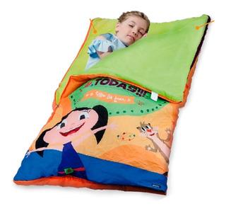 Saco De Dormir Show Da Luna + Bolsa Zippy Criança Infantil