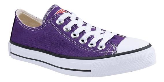 Tênis Converse All Star Cano Baixo Ct Ox As Roxo Violeta