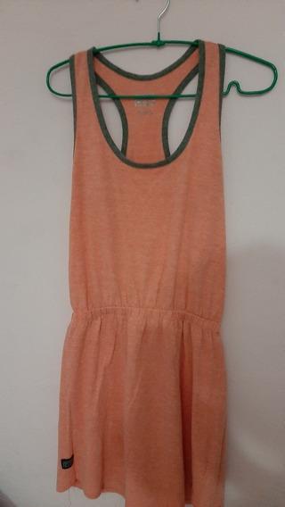 Vestido Coral Modelo Bell Original Converse Verano Algodón