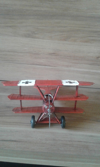 Aviao Réplica Antigo Para Decorar