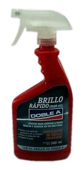 Cera Liquida Brillo Rapido Doble A Paso 3 500ml A Mano