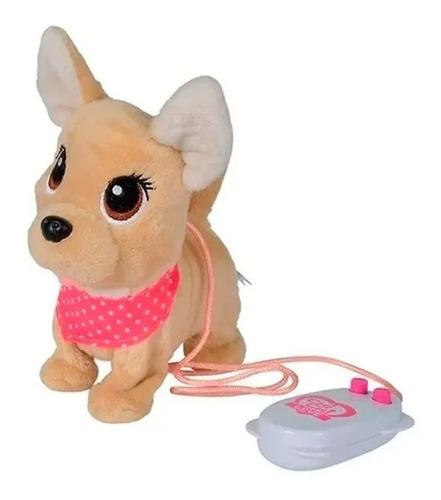 Imagen 1 de 1 de Chichi Love Perrito Peluche R/c Camina Puppy Friends 3243