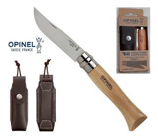 Canivete Opinel Nº8 Inox + Bainha Original - França Edc