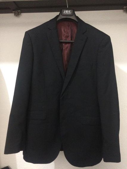 Traje Negro Hombre Elegante Marca, Slim Fit