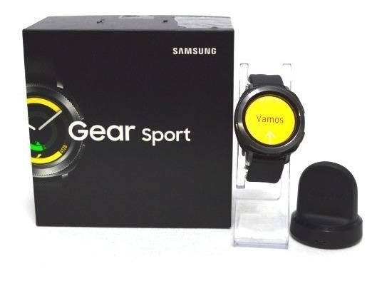Reloj Samsung Gear Sport Modelo Sm-r600 Color Negro Usado (g