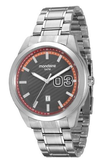 Relógio Mondaine Masculino Aço 34653