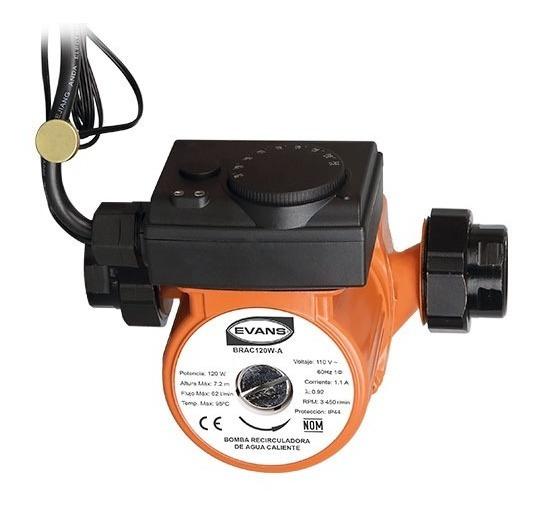 Recirculadora De Agua Caliente Con Termostato Automatizador.
