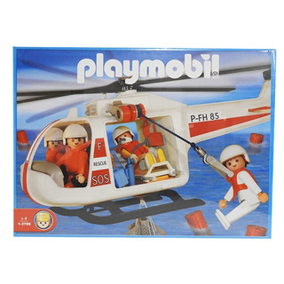 Playmobil Helicoptero Salvataje 3789 Full