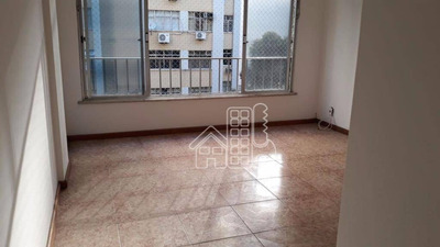 Apartamento Com 2 Dormitórios Para Alugar, 65 M² Por R$ 1.400/mês - Icaraí - Niterói/rj - Ap2610
