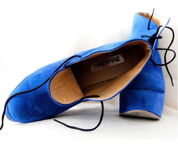 Botinetas Azules