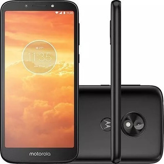 Celular Motorola Moto E5 Play 16gb 5.3 Biometria 1gb +fone