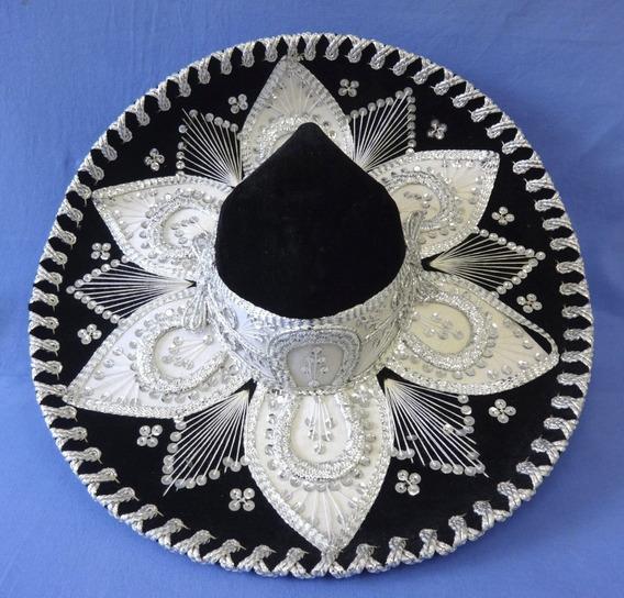 Sombrero - Chapeu Mexicano- Original Mexico Preto