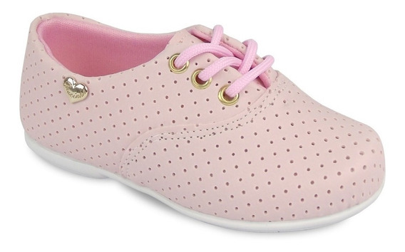 Sapato Infantil Feminino Oxford Diversas Cores