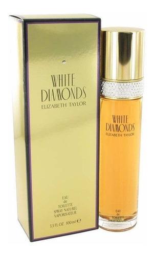 Perfume White Diamonds Elizabeth Taylor 100ml Mujer Original