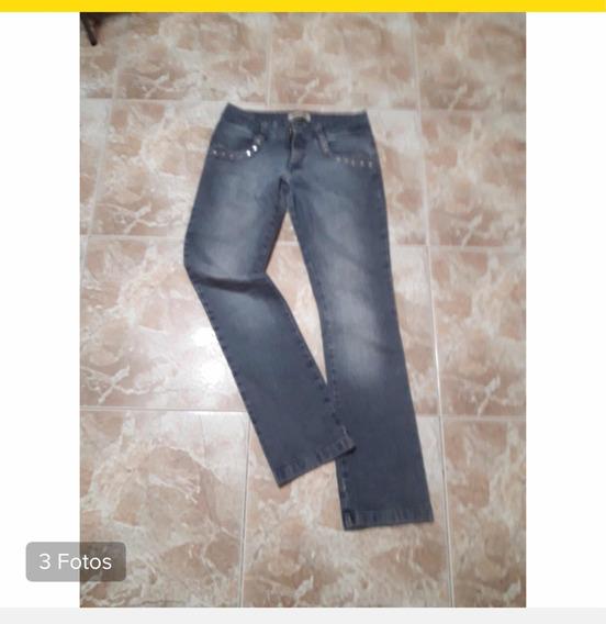 Pantalon De Jeans Marca Ónix Elastizado