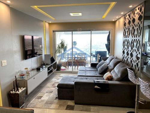 Apartamento Com 3 Dormitórios À Venda, 105 M² Por R$ 980.000,00 - Bethaville I - Barueri/sp - Ap4056
