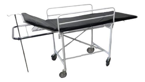 Imagem 1 de 2 de Carro Maca Padiola Obeso Hospitalar C/ Suporte Soro
