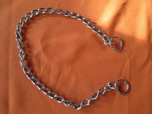 Collar Ahorcador Corrector Cromado, Perros Grandes, L, 64 Cm
