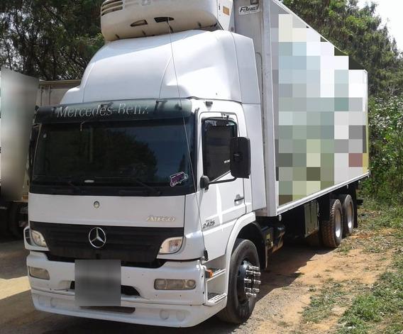Mercedes-benz Atego 2425 Baú Câmara Fria Ano 2011