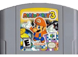 Mario Party 3 N64 Nintendo 64 Repro