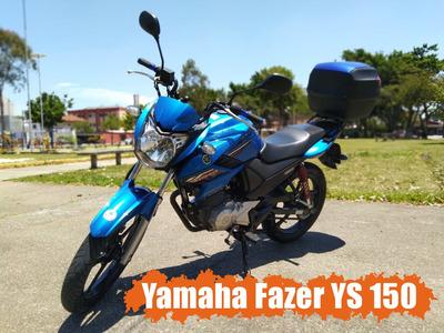 Moto Yamaha Fazer Ys 150 Sed Azul Único Dono Nova * Oferta