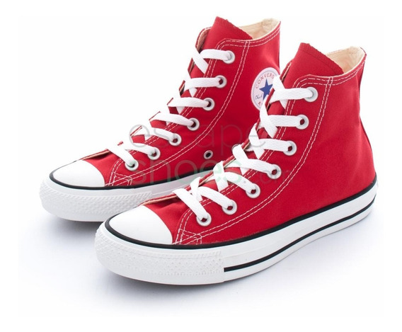 Zapatillas Converse All Star Hi Rojo 13uk