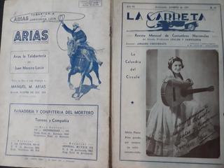 Lote 27 Revistas Tradicionalista La Carreta De Avellaneda