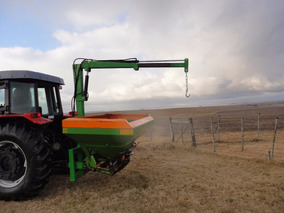 Abonadora Fertilizadora Alemana Amazon Con Pluma Hidraulica