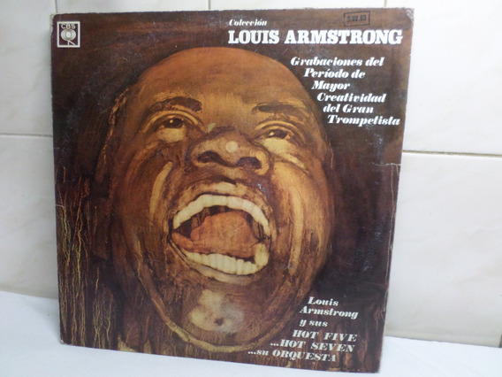 Coleccion Louis Armstrong Disco Vinilo Triple Cbs
