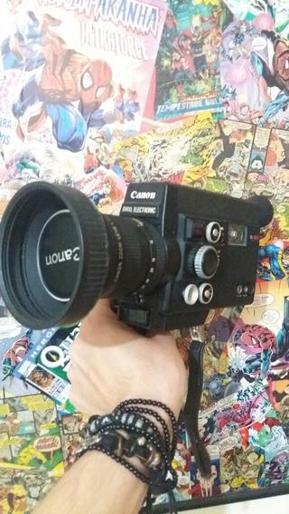 Câmera Super 8 Canon 814xl Funcionando