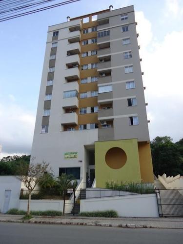 Imagem 1 de 12 de Apartamento No Anita Garibaldi Com 2 Quartos Para Venda, 53 M² - Lg7718