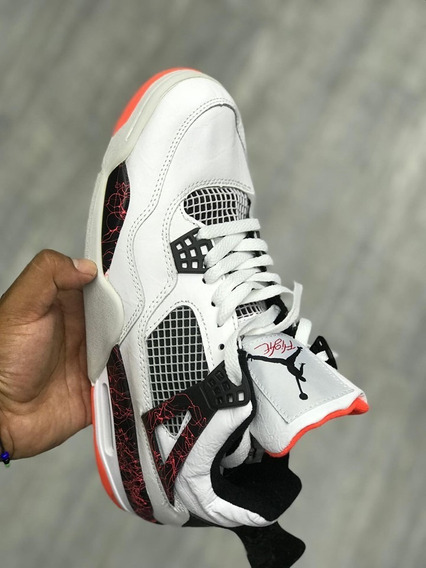 Jordan Retro 4 Hot Punch