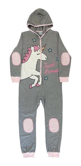 Pijama Niñas Enterito Algodon Boneco Unicornio Mundo Manias