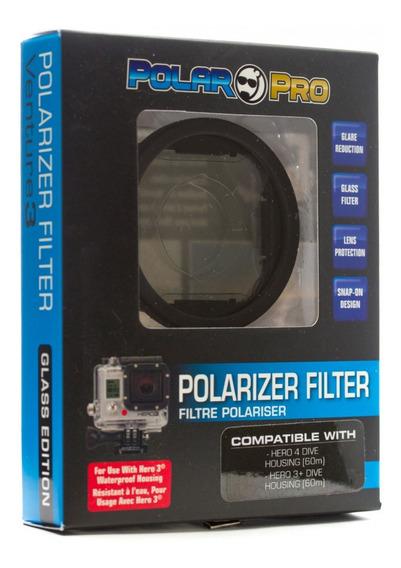 Filtro De Lente Polarizador Para Hero 3+ E 4 P1011