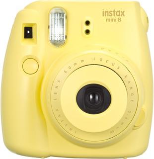 Cámara Instantánea Fujifilm Instax Mini 8 (amarilla)