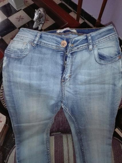 Jeans Chupin Elastizado Scombro