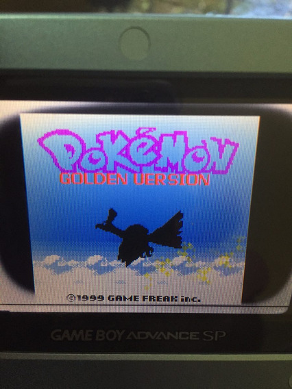 Pokemon Gold Version Game Boy Color Gbc