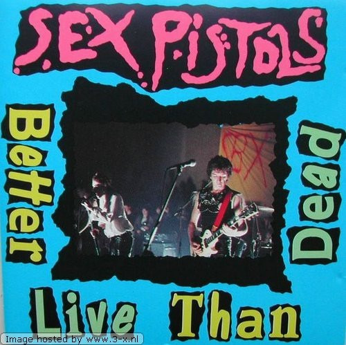 Sex Pistols - Better Live Than Dead Nuevo Original Importado