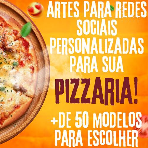 Imagem 1 de 5 de 1 Arte Para Redes Sociais Personalizada Para Pizzaria!