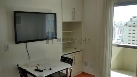 01653 - Flat 1 Dorm, Bela Vista - São Paulo/sp - 1653