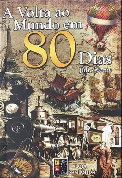 Livro Volta Ao Mundo Em 80 Dias - Julio Verne