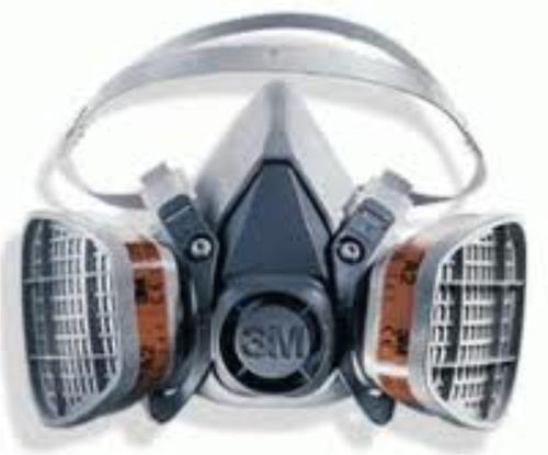 Careta Protectora Quimicos Gases Pinturas Plaguicidas Humos