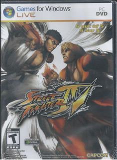 Street Fighter Iv Para Pc Dvd Disco En Físico Importado
