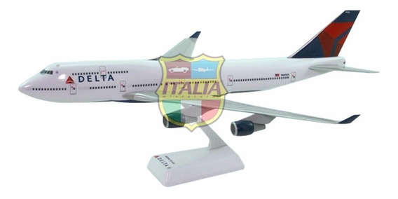 Boeing 747-400 Delta Airlines 1:200 Flight Miniatures