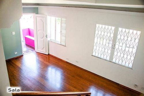 Imagem 1 de 30 de Sobrado Com 3 Dormitórios, 208 M² - Venda Por R$ 650.000,00 Ou Aluguel Por R$ 4.300,00/mês - Vila Valparaíso - Santo André/sp - So1258