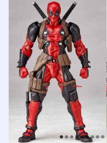 Boneco Action Figure Deadpool Revoltech X-men Marvel 15 Cm