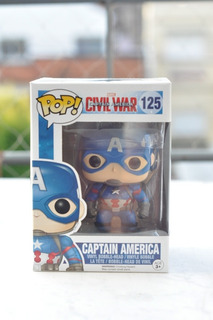 Funko Pop Civil War-captain America