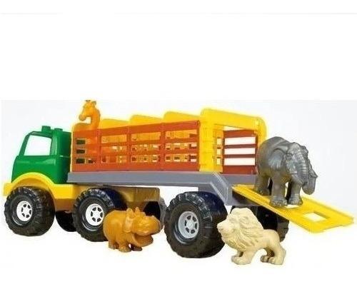 Rondi Camion Con Animales Safari