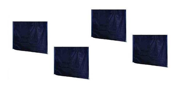 Kit 4 Paredes Em Oxford Com Silver Coating Para Tendas 2x2
