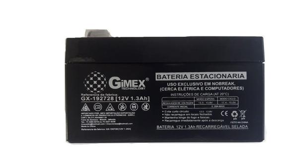 Bateria Nobreak , Cx De Som , Alarme Selada 12v 1,3ah Gimex